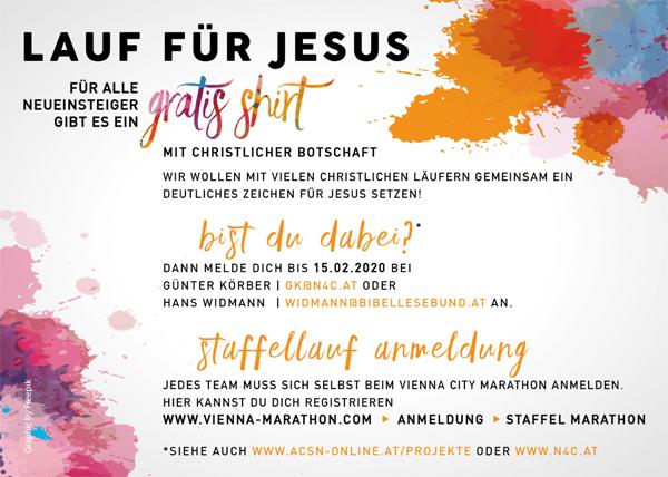 Lauf für Jesus