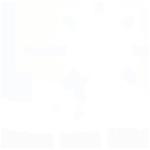 Logo Volksmission weiß